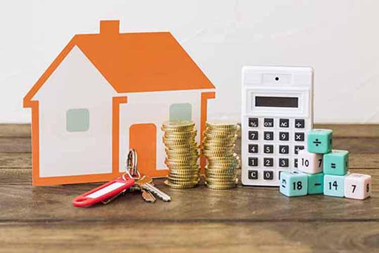 casa monedas llaves calculadora