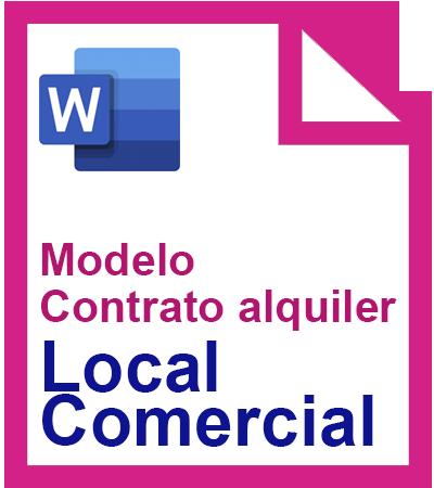 modelo contrato de alquiler local