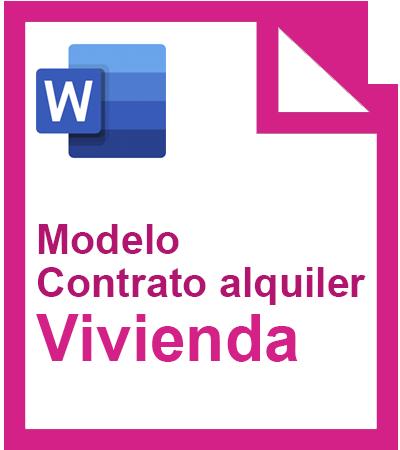 modelo contrato alquiler de vivienda