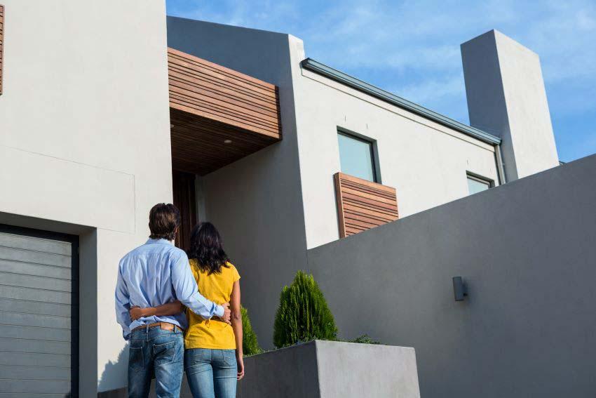 pareja compra vivienda